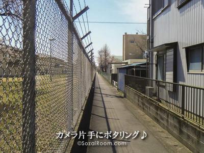 日本とアメリカの境目(米軍住宅)