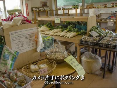 有機野菜の販売所