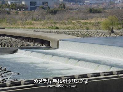 相模川の堰