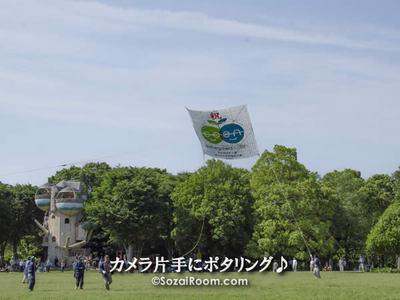 相模の大凧デモストレーション